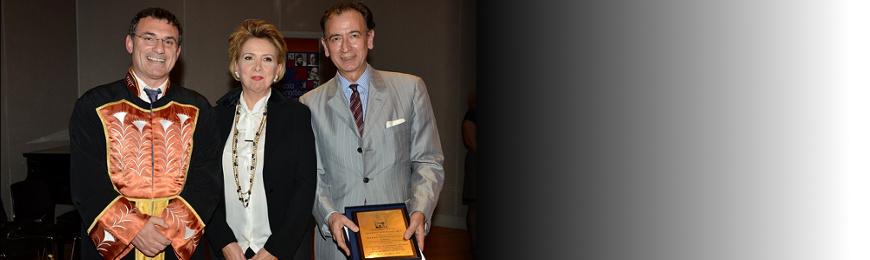Excellence Award to professor Markos Papageorgiou