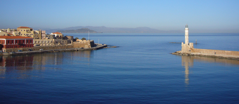 Venetian port, old town of Chania